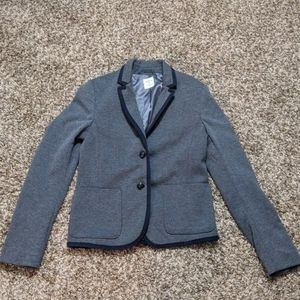 Gap The Academy Blazer - Gray and Navy